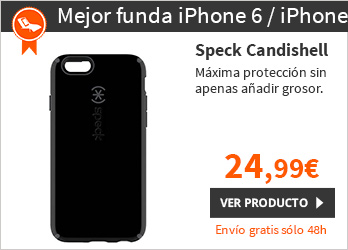 "Speck Candishell Funda iPhone 6 4,7"""" Negro/ Gris oscuro (SPK-A3041)"