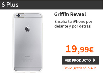 "Griffin Reveal funda iPhone 6 Plus 5,5"" Blanco (GB39040)"