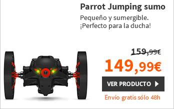 Parrot MiniDrone Jumping Sumo Negro  (PF724001P1)