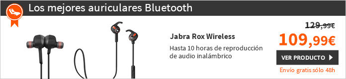 Jabra Rox Wireless Auriculares Bluetooth DOLBY Digital (100-96400000-60)