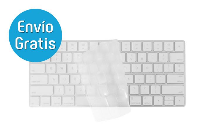 Macally Protector de teclado transparente