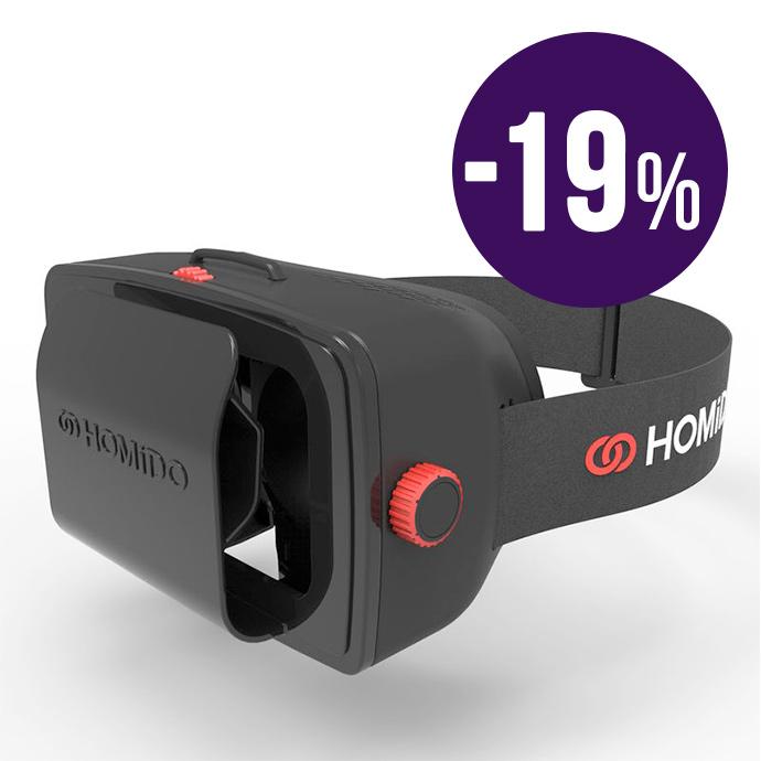 Homido Casco de realidad virtual para iPhone