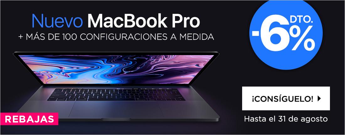 Rebajas nuevo Macbook Pro