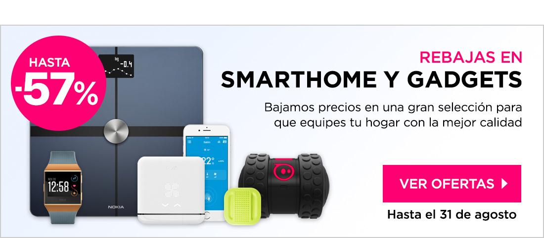 Rebajas Smart home y Gadgets