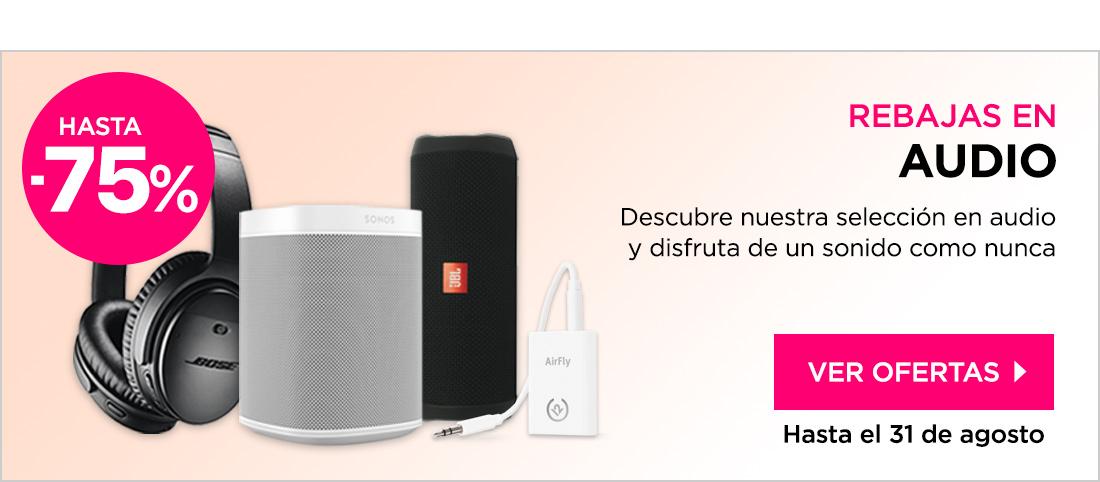 Rebajas Audio